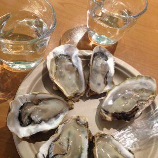 生牡蠣「先端」(SENTAN)(汁なし担担麺専門 キング軒 銀座出張所)
