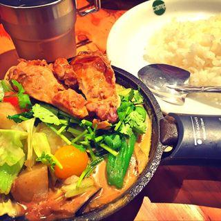1日分の野菜カレー(野菜を食べるカレーcamp ユニモール店 (ヤサイヲタベルカレーキャンプ))