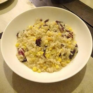 とうもろこしと玄米のリゾット(Little cucina Yume )