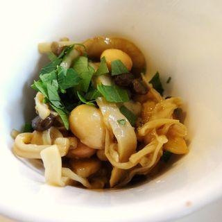 きのこと豆のリゾット(Little cucina Yume )