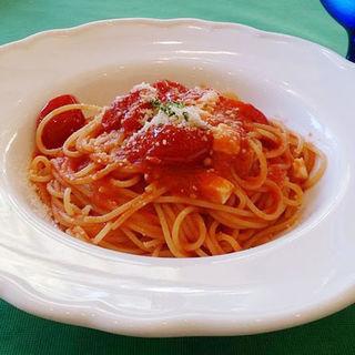 4種類のトマトのスパゲティ(ラ・クッチーナ ハナ (La cucina HANA))