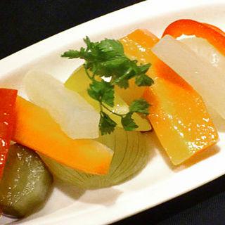 野菜のマリネ(P.C.A. Pub Cardinal Akasaka (ピーシーエー パブ カーディナル アカサカ))