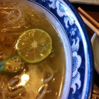すだち塩らー麺(温)(りょう花 新居浜店 )