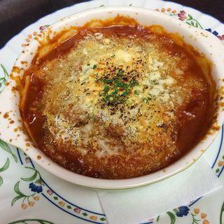 バラコンフィと自家製ソーセージ、豆のトマト煮(PURELY)