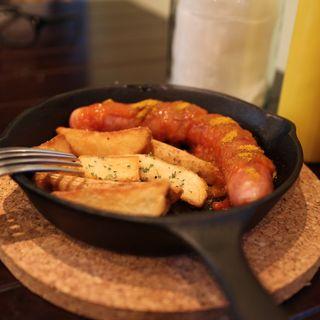 Currywurst(WAVES BURGER 名駅南店 (ウェーブスバーガー))