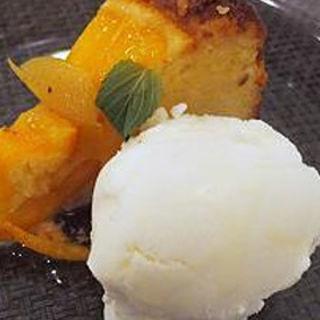 オレンジのケーキ(MANNA)