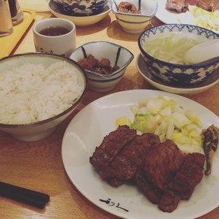 牛たん定食 1人前(利久 東京ソラマチ店 )