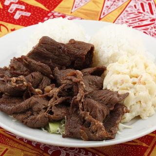 カルビステーキ(L&L ハワイアンダイニングカフェTOKYO (エルアンドエルハワイアンダイニングカフェトーキョー【旧店名】L&L Hawaiian Barbecue))
