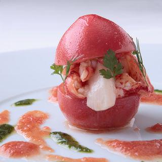 トマトと蟹のコンフィ(Le REMOIS(ル・レモア))