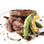 オーストラリア産 葡萄牛フィレ肉とフォアグラのポワレ 美食家風