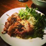 チキンと彩り野菜のサラダ