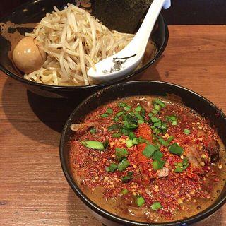特製カラシビつけ麺(カラシビつけ麺 鬼金棒 (キカンボウ))
