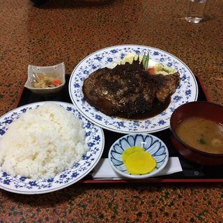 ステーキ定食(工藤精肉店食堂部 (工藤食堂))
