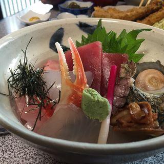海鮮丼(魚佐)