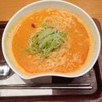 ピリ辛胡麻参鶏湯ラーメン(Vegeけなりぃ ecute品川South店 (ベジケナリイ))