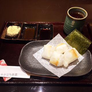 焼き餅三楽(かきはち 本店 )