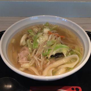 刀削野菜タンメン(トーキョーエアポートレストラン (TOKYO AIRPORT RESTAURANT))
