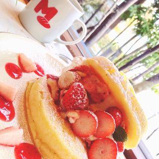パンケーキ(まどパン まどカフェ 上通り店 )