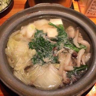 鶏肉と湯豆腐焼き(串猿 Z )