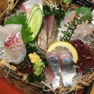 漁師のいいとこ盛り(中)(四十八漁場 エキニア横浜店 )