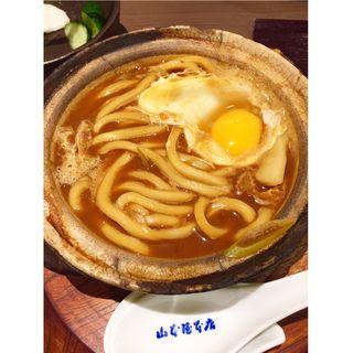 味噌煮込みうどん(山本屋本店 エスカ店 (やまもとやほんてん))