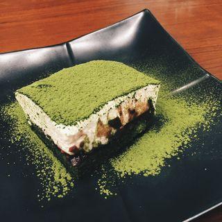 抹茶ティラミス(丸の内 CAFE 会 (カフェ))