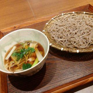 鶏つけ汁そば(そばと天ぷら 石楽JOINUS横浜店 )