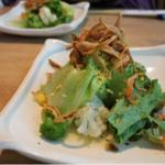 桜山豚と春野菜のざる蒸しランチ