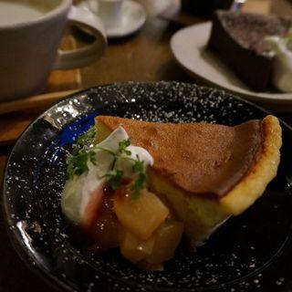 チーズケーキ(ランカトルグカフェ)