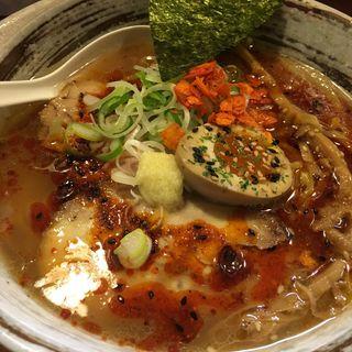 辛醤油ラーメン(獅子王)