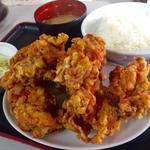 ザンギ定食(A)