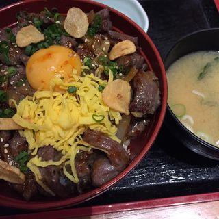 牛ハラミスタミナ丼定食(庄や 国分寺南口店 (しょうや))