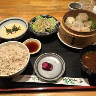 シュウマイ定食(泰山 (たいざん))