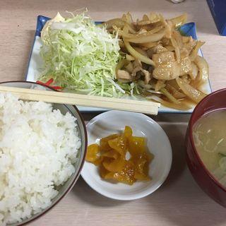 生姜焼き定食(味楽 )