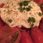ブッラータとトマトのサラダ