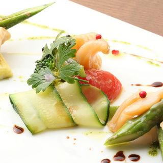 鮮魚と季節野菜のグリル(ラ ブォナ ヴィータ (LA BUONA VITA))