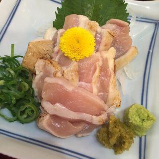 赤鶏のたたき(東屋 )
