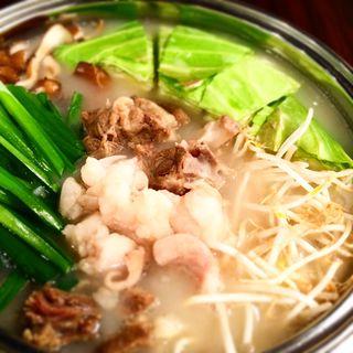 テールスープモツ鍋(肉屋 弘商店 )