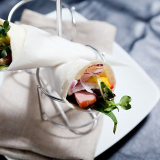 豚肉と野菜の春巻き(和食 完全個室 かざね 銀座店 )