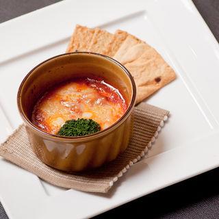 トマトとチーズのグラタン(和食 完全個室 かざね 銀座店 )