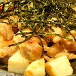 鶏と山芋のホクホク焼き(塩たれ)