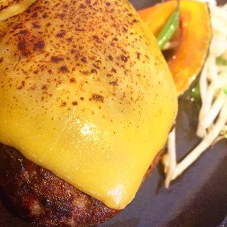 ハンバーグステーキセット(夢二亭)