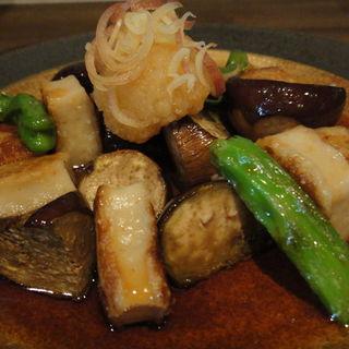 生麩と茄子のおろし和え(Kokori (和味和酒ココリ))
