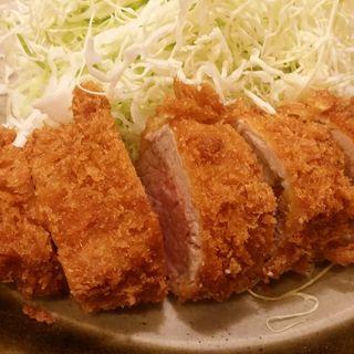 ひれかつ定食(とんかつ 明石)