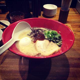 赤丸新味(博多 一風堂 盛岡店 (いっぷうどう))