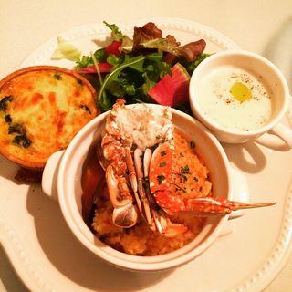 魚介のリゾットとキッシュプレート(ラ・メゾン アンソレイユターブル 横浜ららぽーと店 (La Maison ensoleille table))