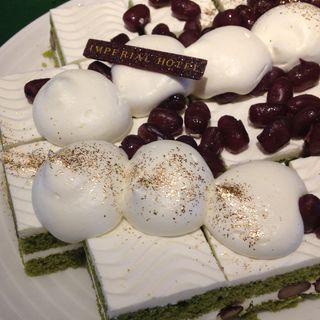 抹茶と小豆のケーキ(インペリアルバイキング サール (THE IMPERIAL VIKING SAL))