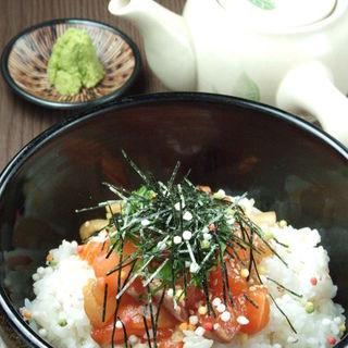 海鮮味噌たまり茶漬け(鍛冶二丁 (カジニチョウ))