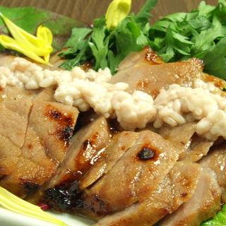 鶏もも肉の塩麹漬け焼き(鍛冶二丁 (カジニチョウ))