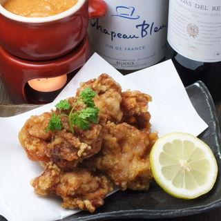 鶏から揚げ~うまとろポン酢ソース~(鍛冶二丁 (カジニチョウ))